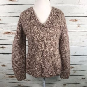 Ghiberti Cable Knit Sweater Chunky Knit Vintage
